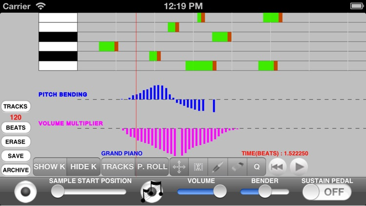 samplerSequencer screenshot-1
