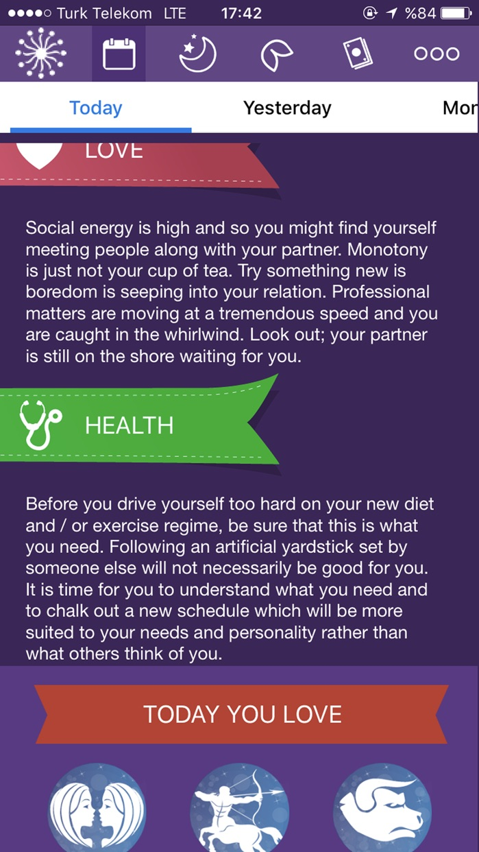 Astrology - Daily Horoscope Screenshot