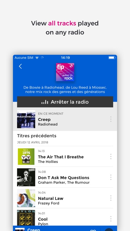 Fip – radio & music streams screenshot-3