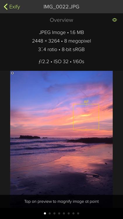 Exify - Tools for Photos screenshot-0