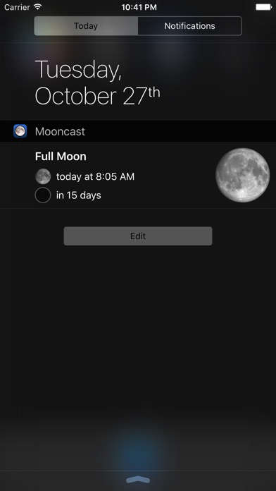 Screenshot for Mooncast in United States App Store