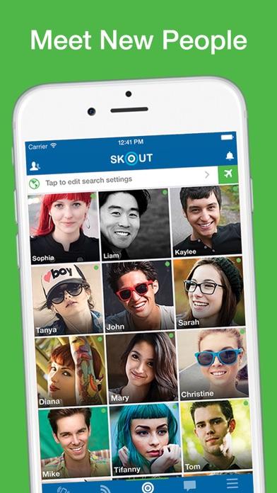 Skout app scams