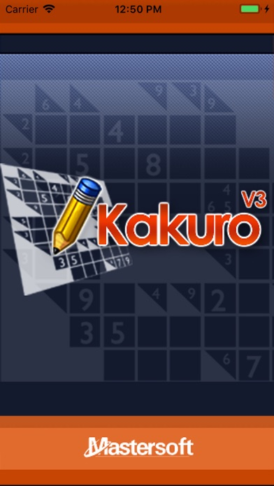 Kakuro - No Ads Edition screenshot 1