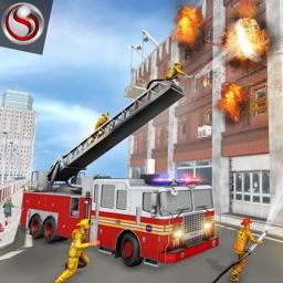 Fire Truck Driving Simulator