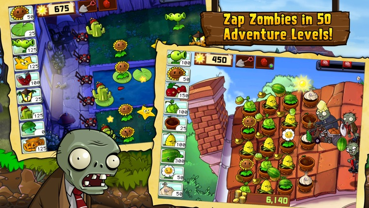 Plants vs  Zombies™ by Electronic Arts