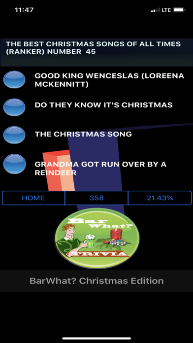 BarWhat? Christmas 10K+ Trivia screenshot 10