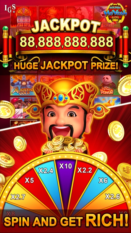 Golden HoYeah Slots Casino screenshot-2