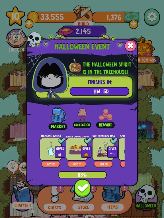 Loud House: Ultimate Treehouse screenshot 11
