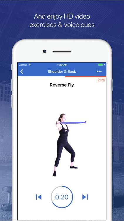 Resistance Bands Workouts by Fitify