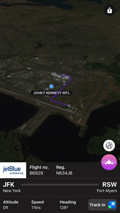 Plane Finder 3D screenshot 4