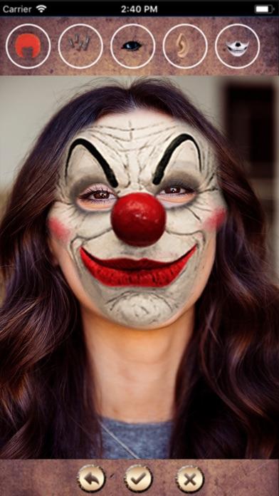 Halloween Mask Face Change HD screenshot one