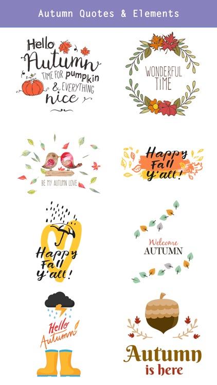 Autumn Love - Coffee & Flower & Quotes screenshot-4