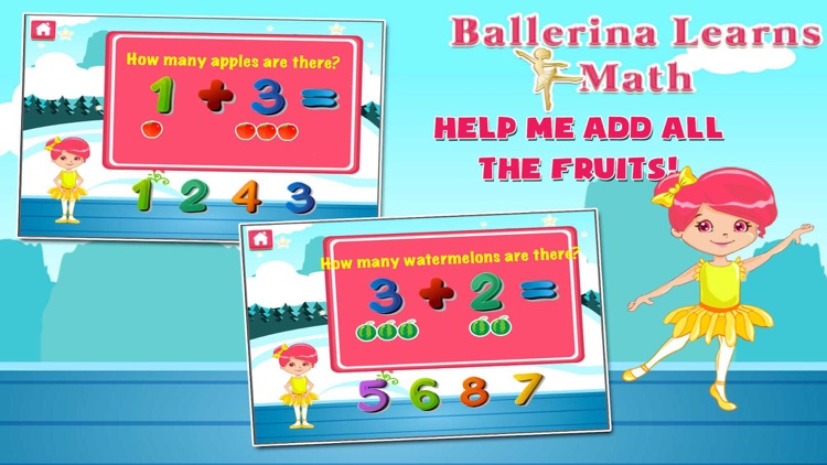 Ballerina Math Mania screenshot-2