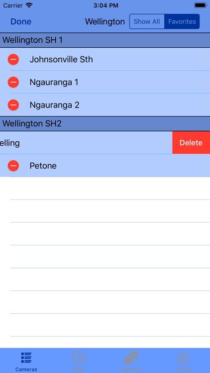 Wellington Traffic Cam screenshot-7