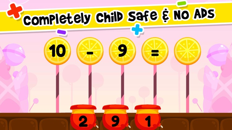 Addition & Subtraction Kids K2 screenshot-8