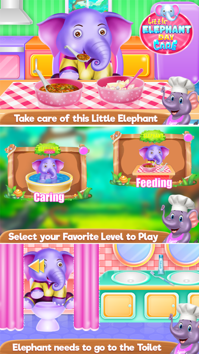 Little Elephant Day Care Screenshot