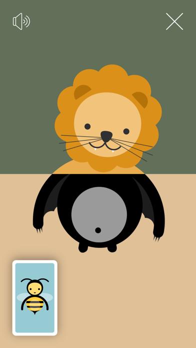 トドラー・ズー - 動物を作る - 窓用