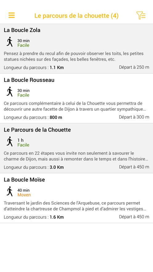 Le Parcours de la Chouette App 截图