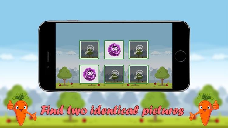 Match pairs memory games