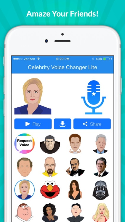 Celebrity Voice Changer - Face screenshot-4
