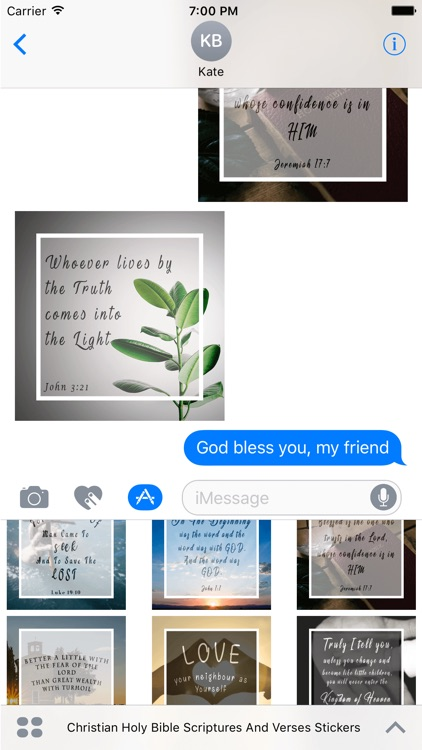 Christian Holy Bible Scriptures & Verses Stickers screenshot-3