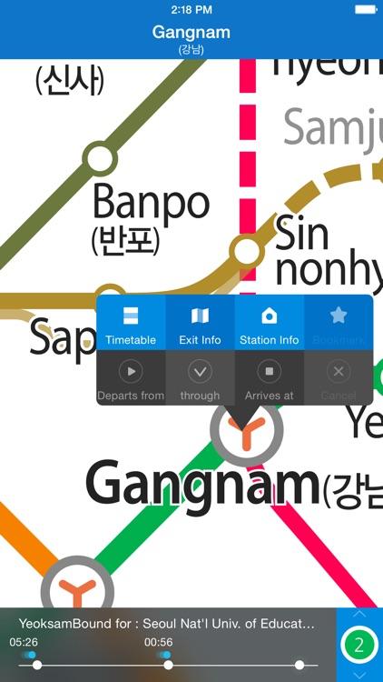 Subway Korea screenshot-3