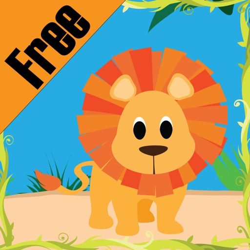 Happy Jungle Sight Words Free iOS App