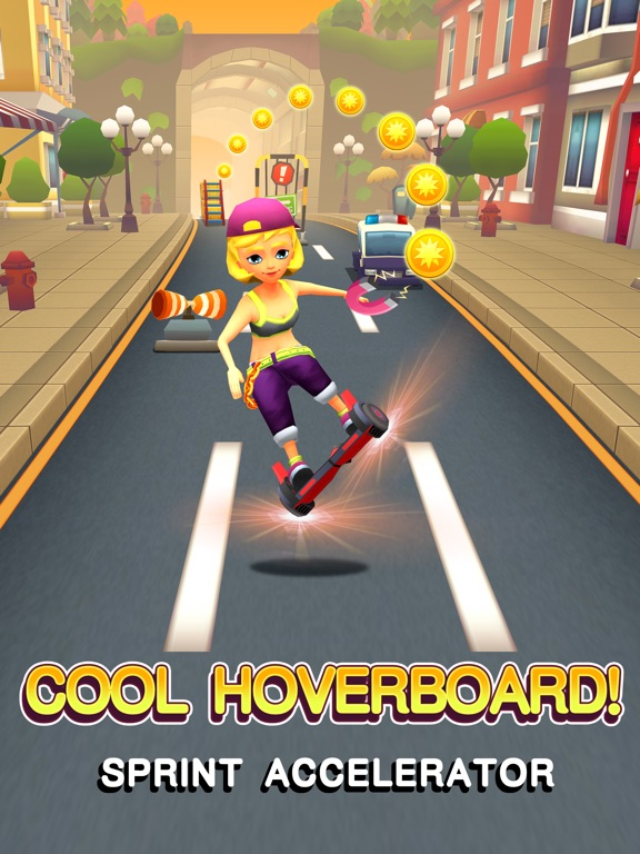 Hoverboard Rush на iPad