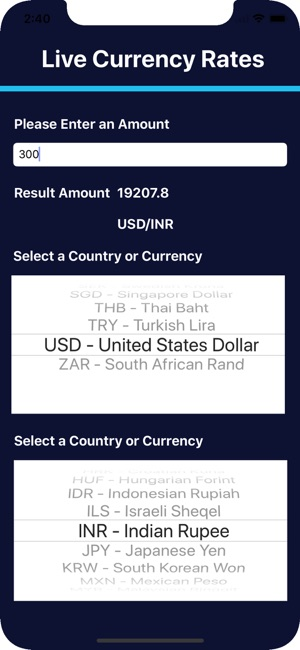 Live Exchange Rate Calculator 4