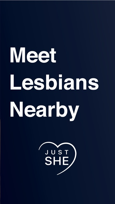 Just She - Lesbian Dating App Screenshot
