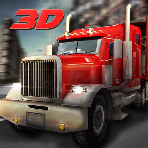 18 Wheeler Truck Driver Simulator 3D – Drive out the semi trailers to transport cargo at their destination