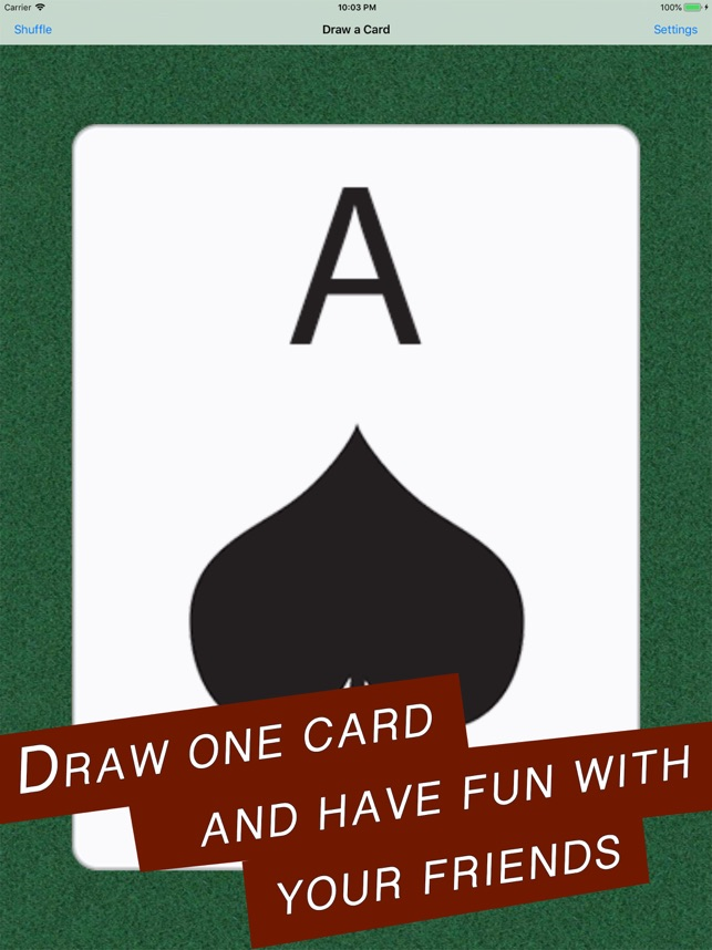 Draw A Card Deck On The App Store
