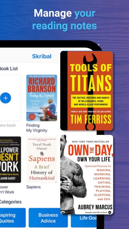 Skribal – Read & Make Notes