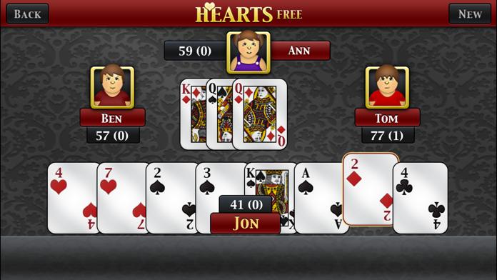 Hearts ∙ Screenshot