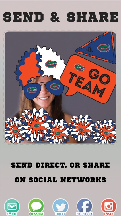 Florida Gators Selfie Stickers screenshot-3