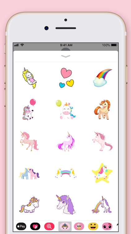 Cute Unicorn Kawaii Stickers screenshot-4