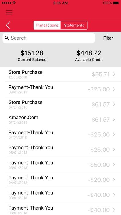 Talbots Credit Card App screenshot-3