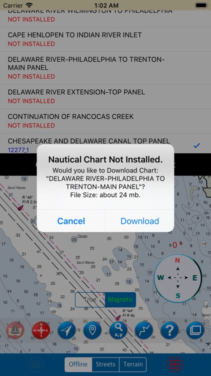 Delaware Bay – Marine Charts screenshot-3