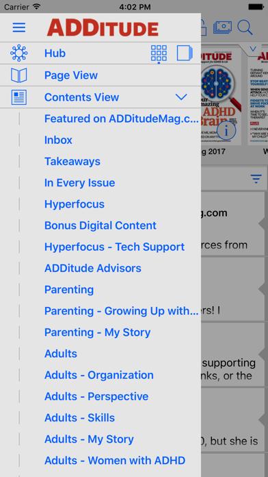 ADDitude Magazine Screenshot