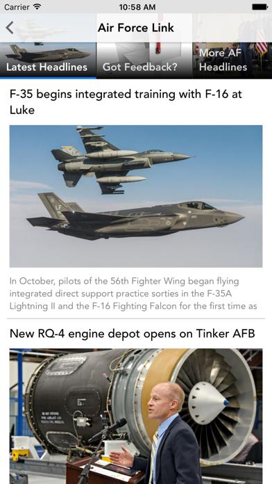 AF Link screenshot two