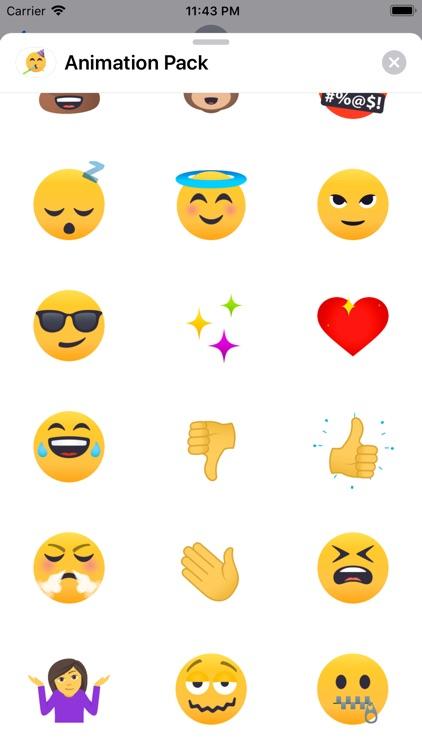 Animated Emoji by EmojiOne screenshot-3