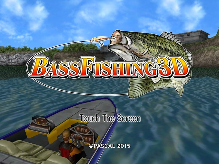 Bass Fishing 3D HD Premium screenshot-0