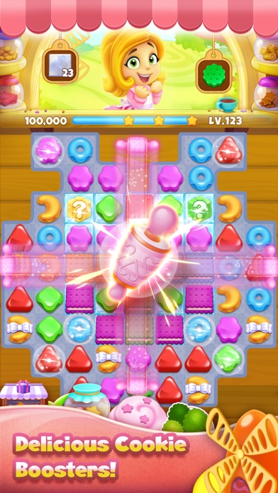 Cookie Yummy - Match 3 Puzzle screenshot three