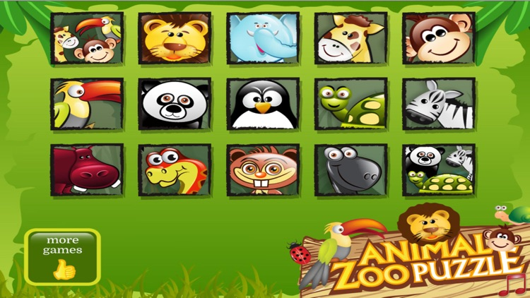 Animal Zoo Puzzle for Kids