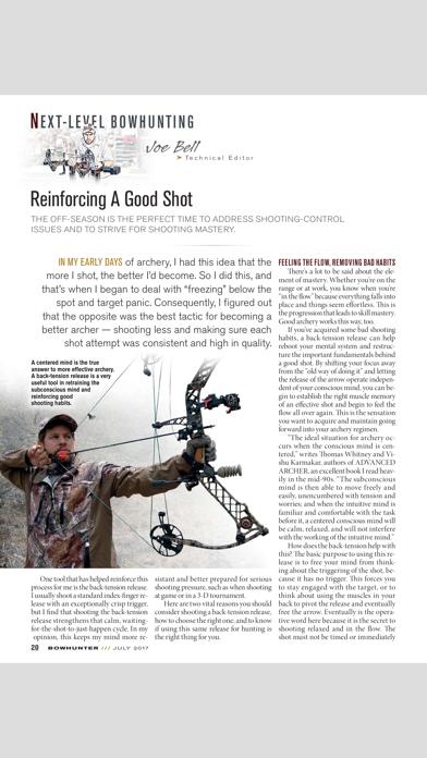 Bowhunter Magazine Screenshot
