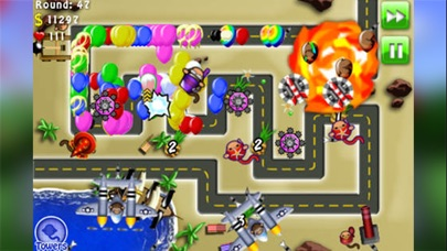 Screenshot for Bloons TD 4 in Denmark App Store