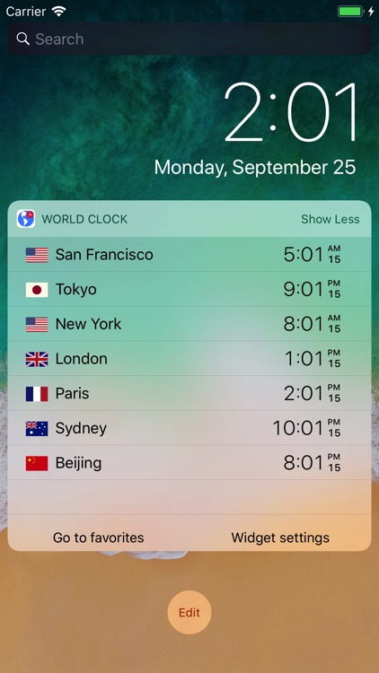 World Clock by timeanddate.com screenshot-0