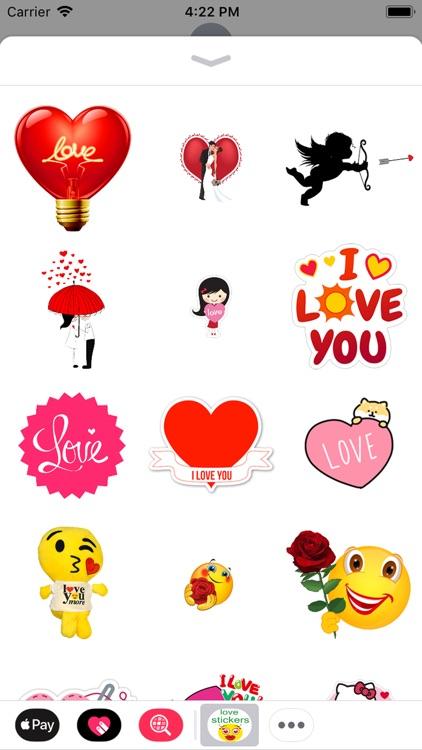 love you stickers screenshot-4