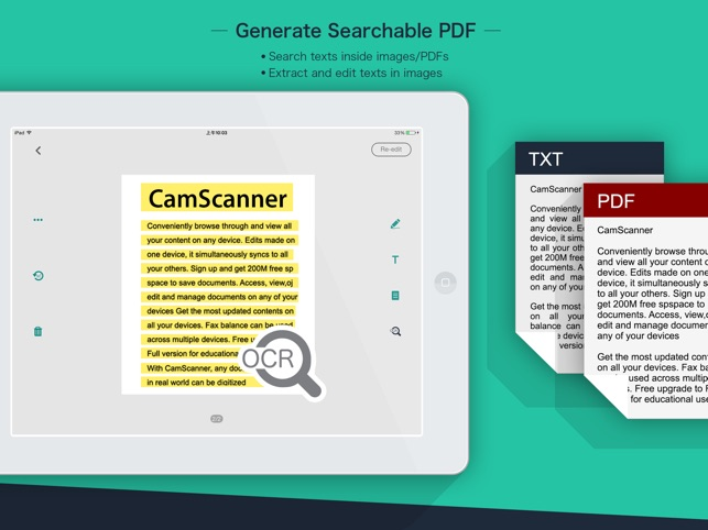 CamScanner HD on the App Store