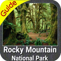 Rocky Mountain National Park gps and outdoor map